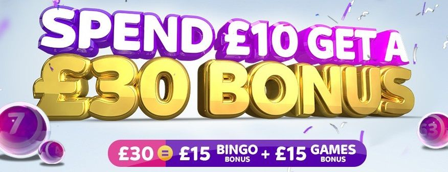What bonuses does the bingo site off Sky Betting offer?