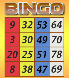 draw a 80 ball bingo ticket