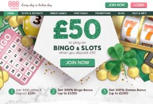 claim the 888 ladies bingo bonus