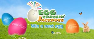 What is the easter jackpot at 888 ladies?