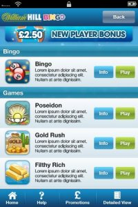 android app for william hill bingo