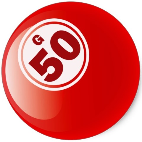 do you know about the 50 bingo ball