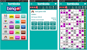 blackberry app for playing bingo at tombola