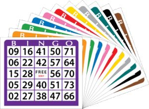 Buy Bingo Cards by making the right selection of tickets!