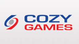 Which sites use the online software of Cozy Games?