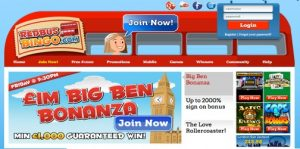 Visit the London themed operator for online bingo gaming!