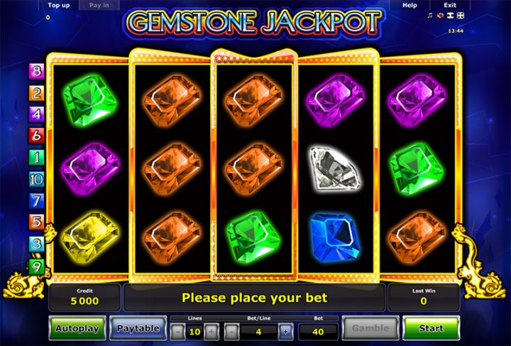 Can you hit the jackpot at gem stone slots?
