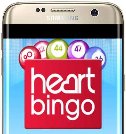 Gamesys websites like Heart Bingo don't stand out regarding mobile apps!