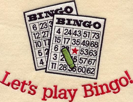 Where can you practice bingo after signing up?