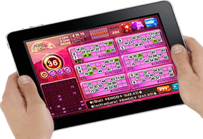 Get to learn how to play bingo on your iPad!