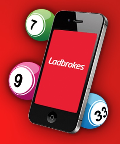 How to use the mobile bingo app of Ladbrokes?