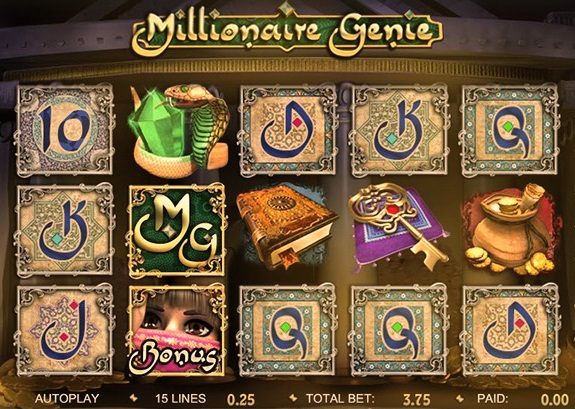 Millionaire Genie is a slot game powered by Dragonfish!