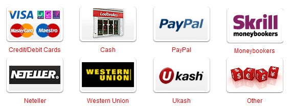 Withdrawal methods when banking with Ladbrokes online!
