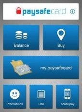 does the paysafecard have a mobile app