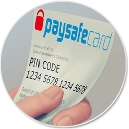 can you get a paysafecard ticket when betting