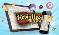 Robin Hood Bingo on mobile