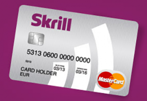 skrill card for online services