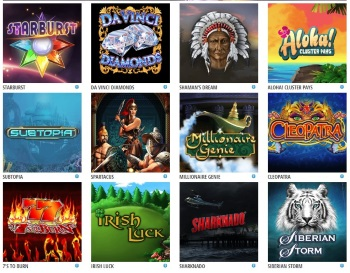 Choose from wide range of games at Slots of Dosh