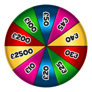 Find spin the wheel games and other features of 15 network!