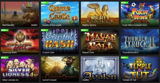 Play over 300 great casino and slot games at SuperSpins