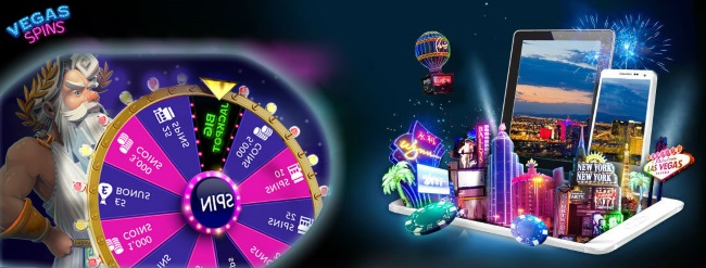 Play your favourite slot games at Vegas Spins