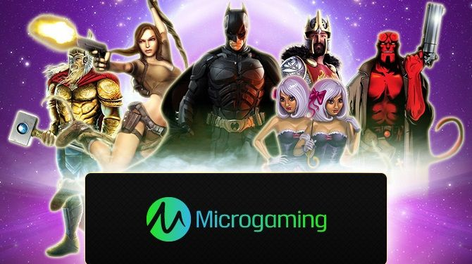 Check the huge variety of amazing games with top quality at Microgaming!
