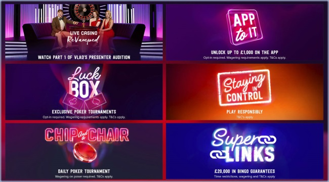 Enjoy Lots of Promotions at Virgin Bingo