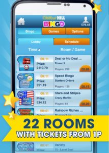 how to install the william hill bingo app