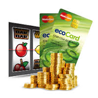 with ecocard you can bet on slot sites